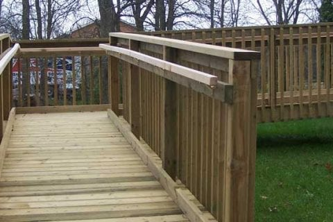 Permanent Wheelchair Ramps