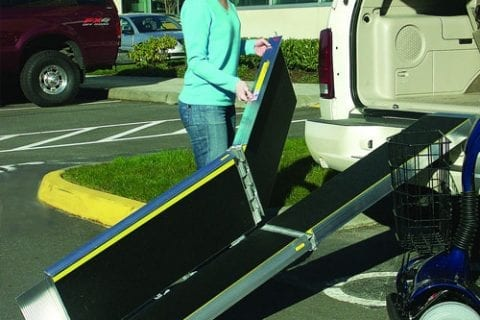 Temporary and Portable Wheelchair Ramps